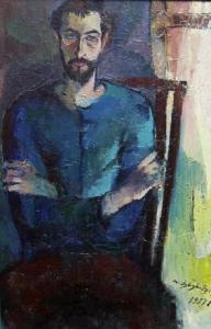 Schmagi - Öl auf Leinwand 59 x 89 cm - 1985 - unverkäuflich