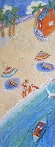 Mein Traum - Öl auf Leinwand 44 x 154 cm - 2002 - Preis: 2.200 €