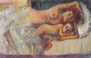 Schöne Träume - Öl auf Leinwand 100 x 65 cm - 2010 - Preis: 1.300 €
