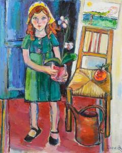 Tochter meiner Freundin - Öl auf Leinwand - 2006 - Preis: 1.900 €