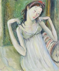 Zärtlichkeit - Öl auf Leinwand 53 x 42 cm - 2005 - Preis: 900 €