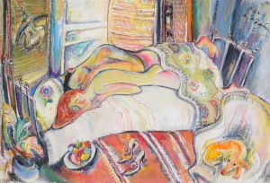Die Schlafenden - Öl auf Leinwand 70 x 50 cm - 2000 - Preis 1.000 €